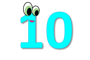 10 clipart 3