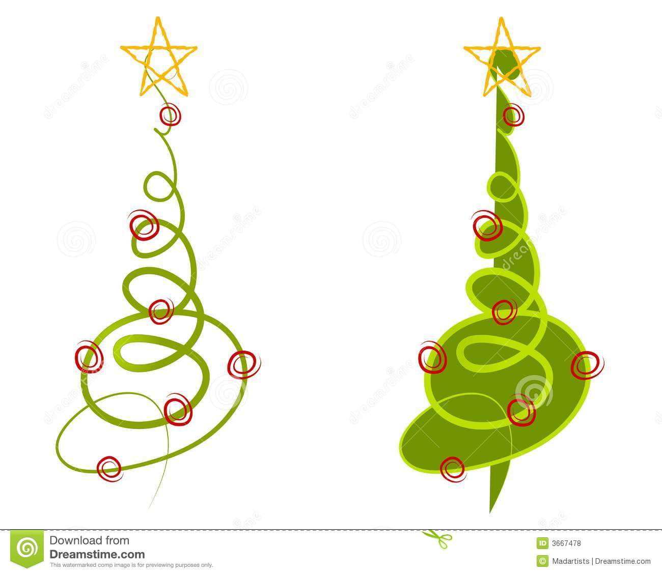 Abstract Christmas Tree Clipart 1 Clipart Station