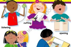 action words clipart 5