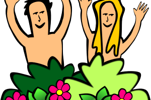 adam and eve clipart 1