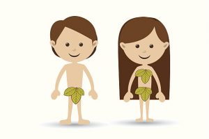adam and eve clipart 2