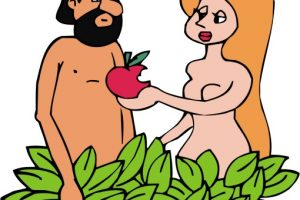 adam and eve clipart 4