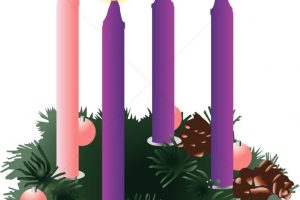 advent candles clipart 2