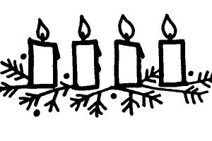 advent candles clipart 4