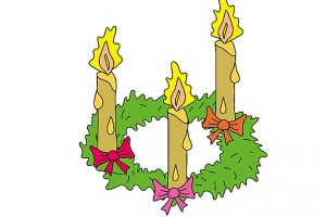 adventskranz clipart 3