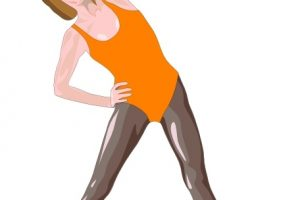 aerobic exercise clipart 3