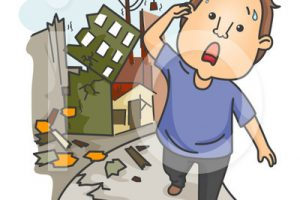 after earthquake clipart 1