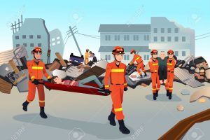 after earthquake clipart 3