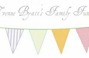 afternoon tea bunting clipart 3
