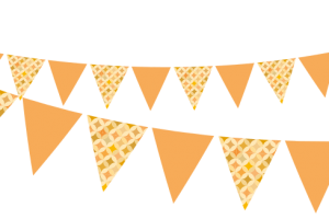 afternoon tea bunting clipart