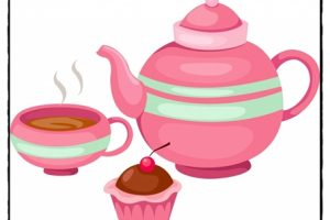 afternoon tea clipart 4