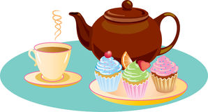 afternoon tea clipart