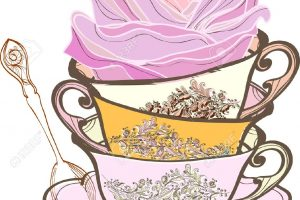 afternoon tea party clipart 8