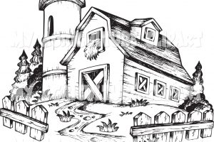 agriculture clipart black and white 3