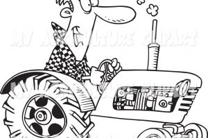 agriculture clipart black and white 8