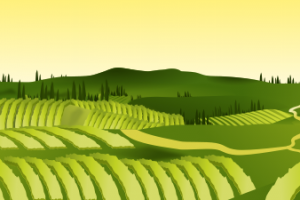 agriculture field clipart
