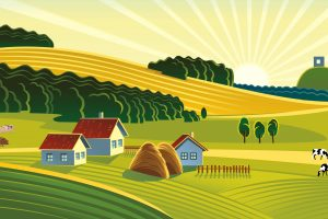 agriculture field clipart 8