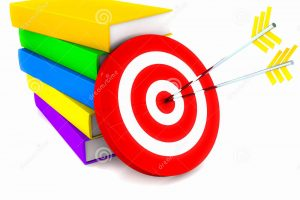 aim and objective clipart 3