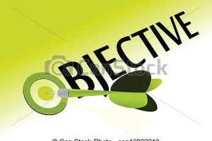 aim and objective clipart 4