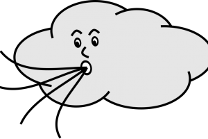 air clipart black and white 1