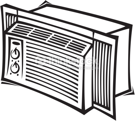 Air Conditioner Clipart Black And White 11 187 Clipart Station
