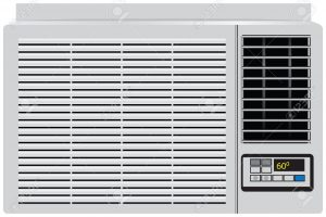 air conditioner clipart black and white 12