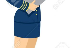 air hostess clipart