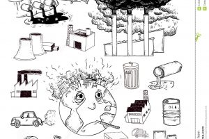 air pollution clipart black and white 11