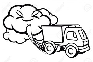 air pollution clipart black and white 2