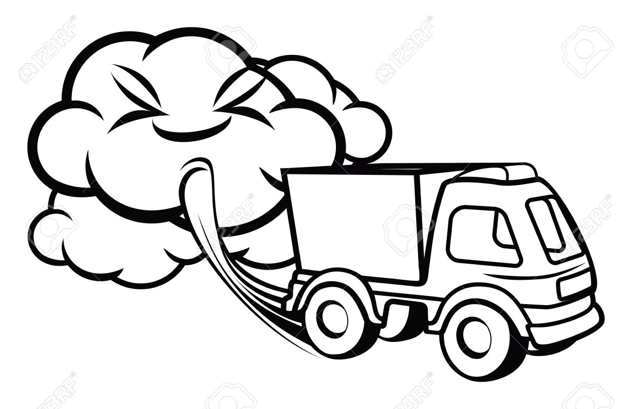 car trucks coloring pages with Air Pollution Clipart Black And White 2 on 74063 Coca Cola Truck V11 also Drawn 20tractor 20animated further TF3 Optimus Prime G1 Trailer 182923577 together with Truck And Trailer Silhouette moreover Ice Cream Food Truck Design 852376.