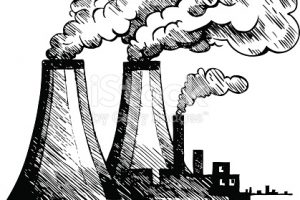 air pollution clipart black and white 3