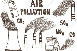 air pollution clipart black and white 5