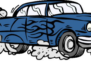 air pollution from cars clipart 1