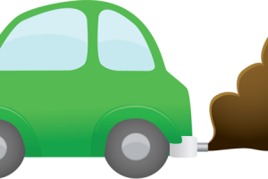 air pollution from cars clipart