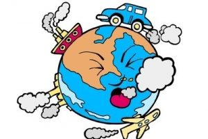 air pollution from cars clipart 8