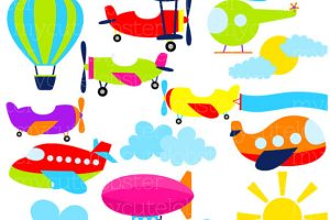 air transportation clipart 3