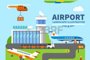 airport building clipart 10