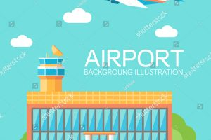 airport building clipart 12