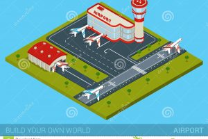 airport building clipart 4