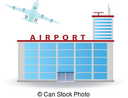 airport building clipart