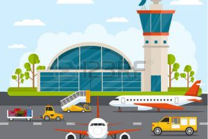 airport clipart 7