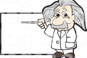 albert einstein clipart 4