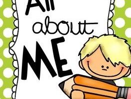 all about me clipart 4