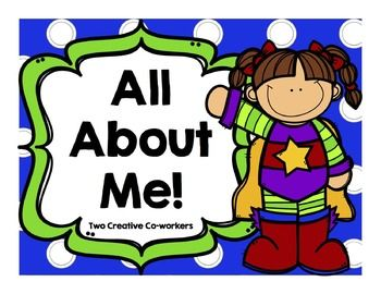 creative all about me titles