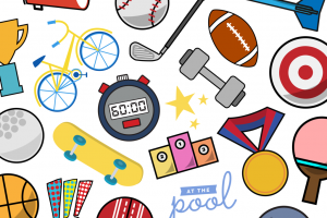 all sports backgrounds clipart 2