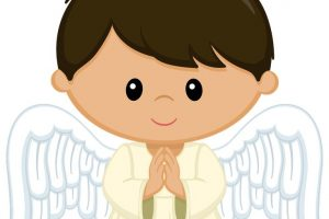 angel boy clipart 11