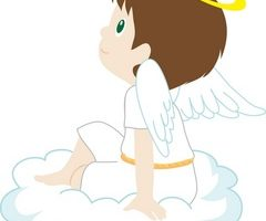 angel boy clipart png 7