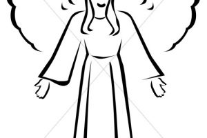angel clipart 6