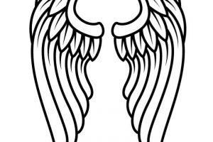 angel wings clipart 8