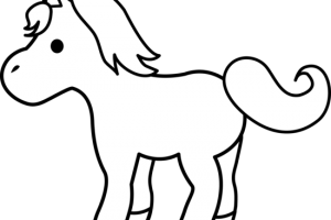 animal clipart black and white 1